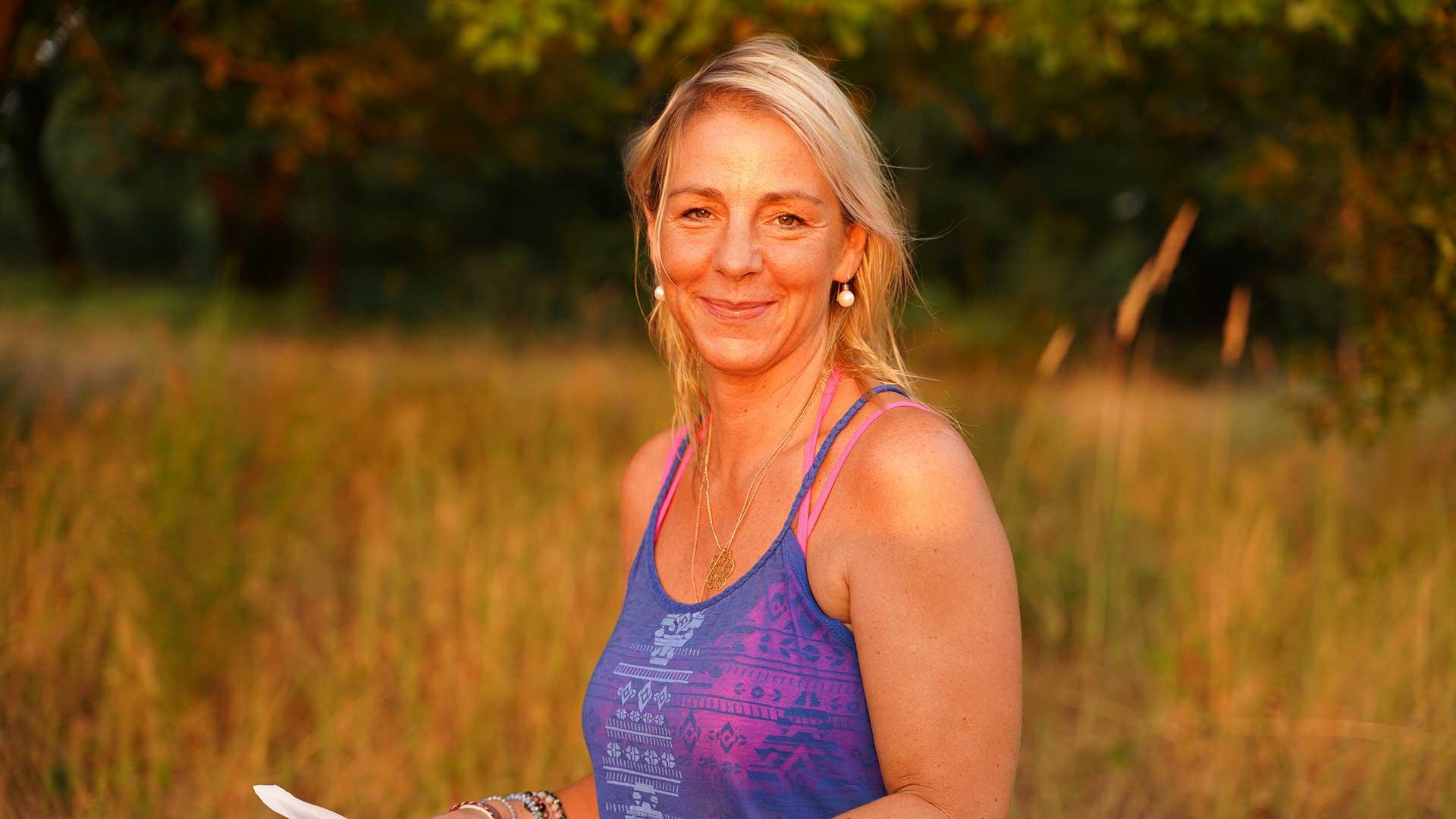 Aufnahme Yogaserie in der Natur!
