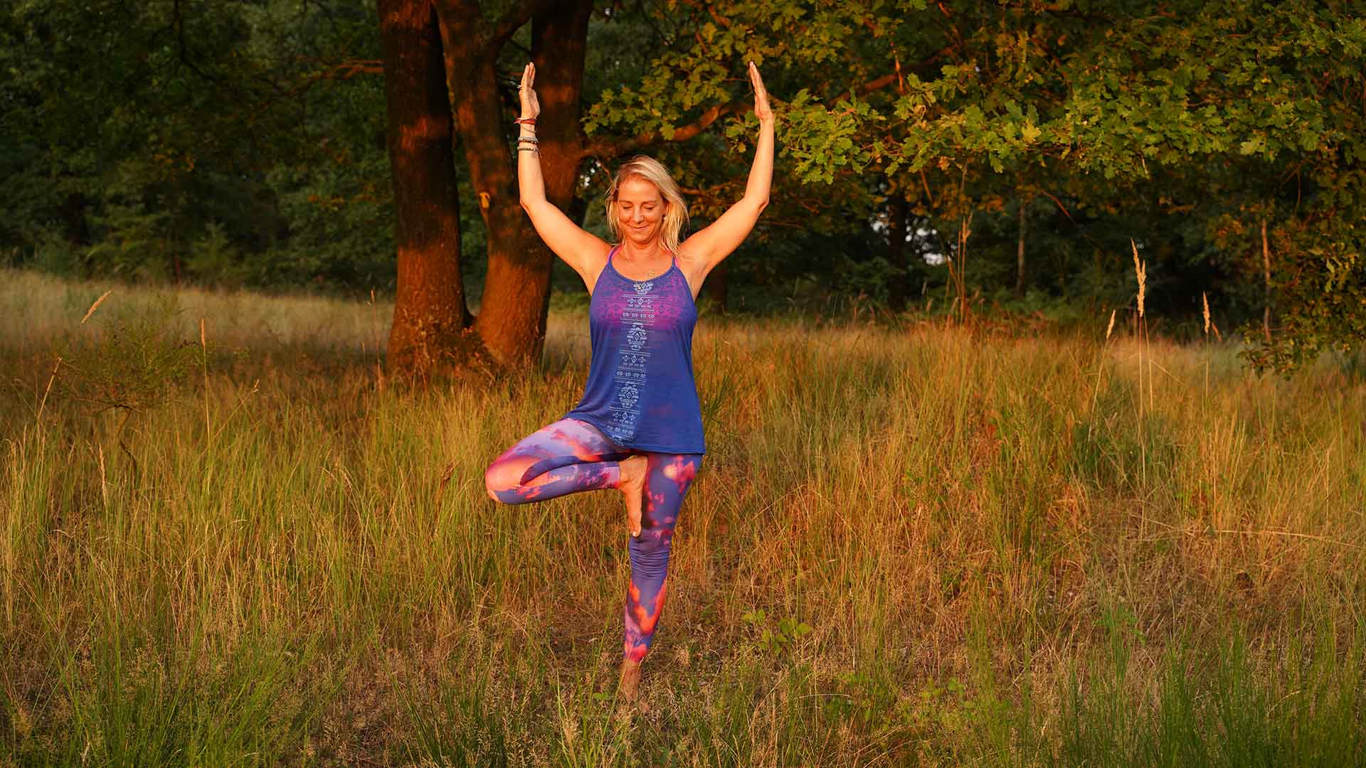 Yoga heißt sich mit dem Körper verbinden!