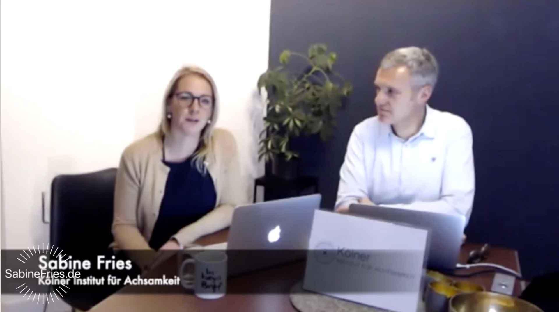 Online Austausch im Businessbereich zum Thema Mindfulness in Unternehmen!